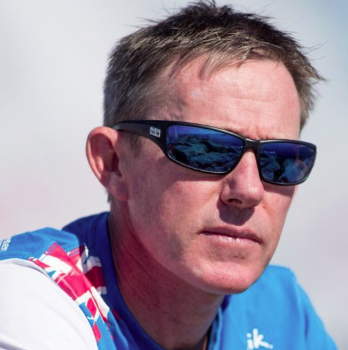 Stephen 'Sparky' Parks - team manager British Olympic Sailing