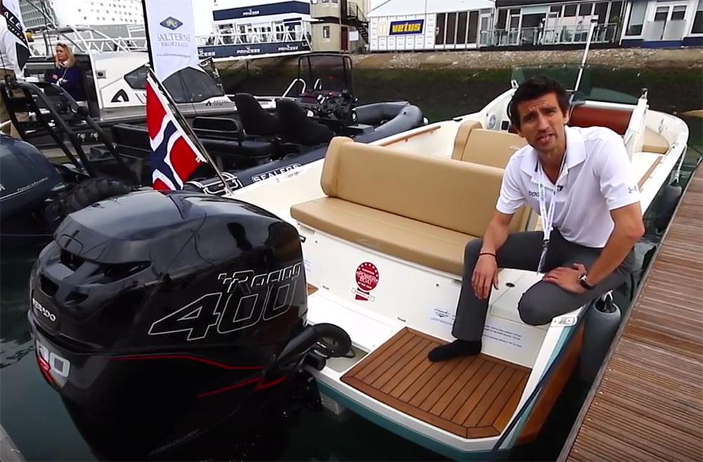 Cormate U23 R video tour shot at Southampton Boat Show 2016.