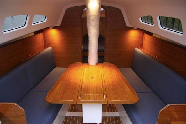 XP-33 XP-33 below decks: saloon tablebelow decks
