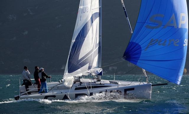 Saphire 27 downwind