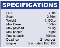Sealegs Specifications