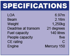 Shakespeare 700SC Specifications