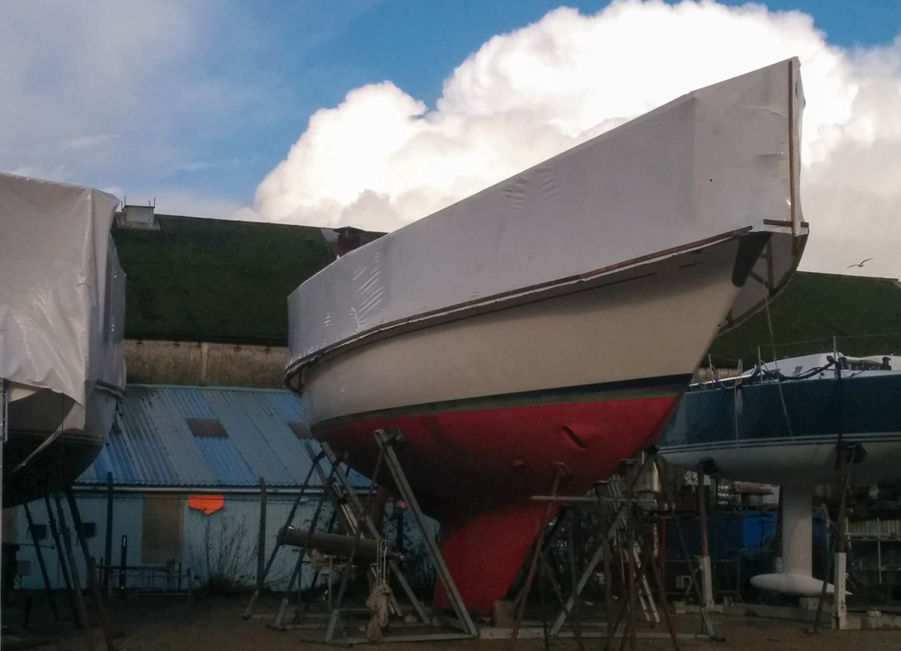 Shrink wrap cover – Should I sell my boat?