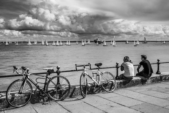 Cowes Week photo competition: shoreside winner