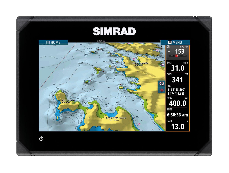 Simrad Go7: consumer chartplotter system
