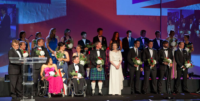 Fabulous send-off for British sailors at Sail for Gold Ball