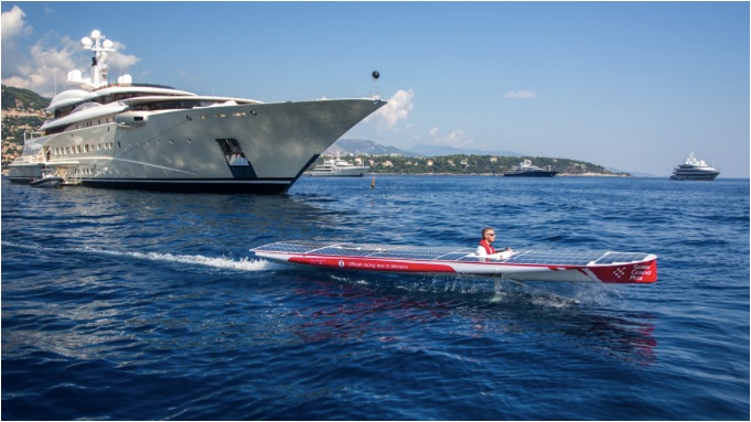 Monte Carlo Cup: fossil-fuel free powerboat race