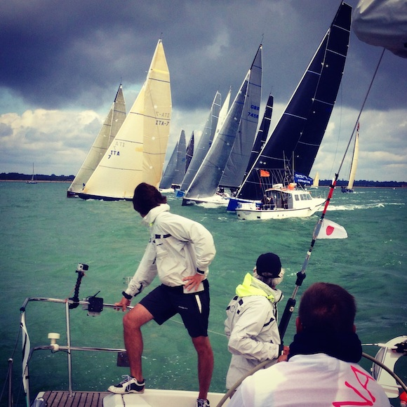 Cowes Week photo competition: best racing photo