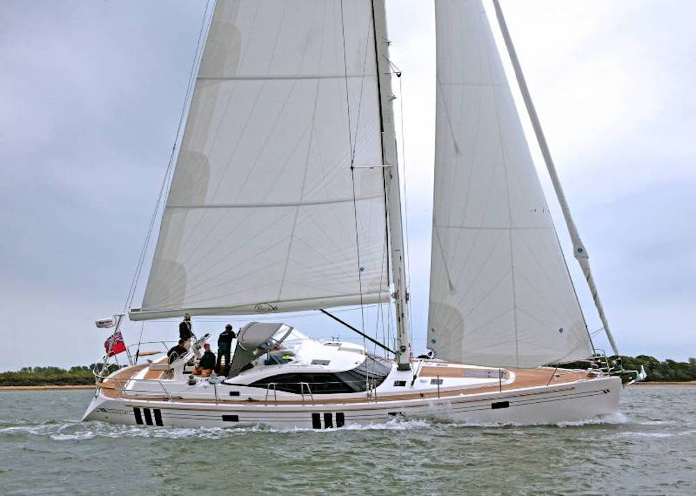 Southerly 540 under sail