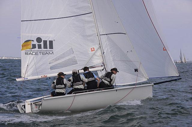 Sarah Allen's SB20 'Gill Sailing Team'