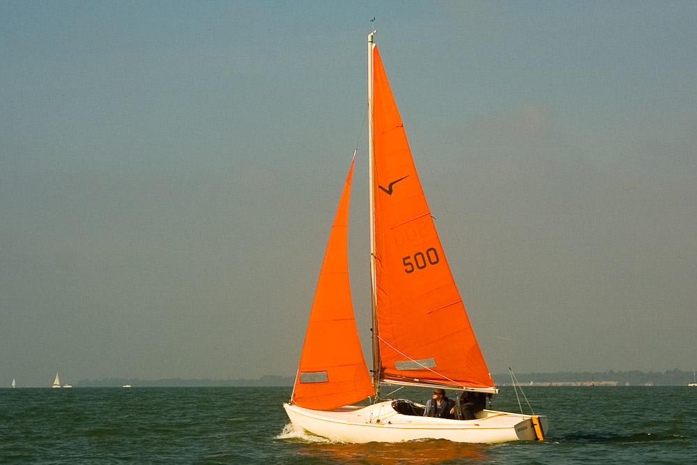 Racing yachts: Squib