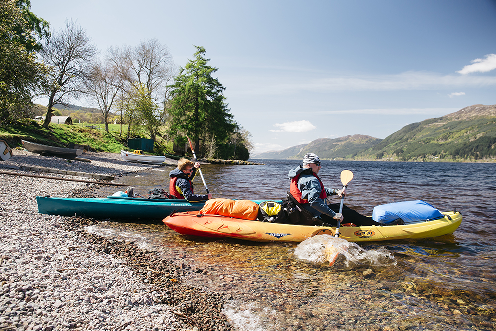 Stay and sail Loch Ness