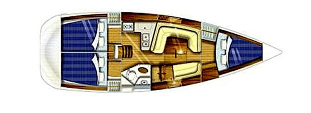 Jeanneau Sun Odyssey 35.