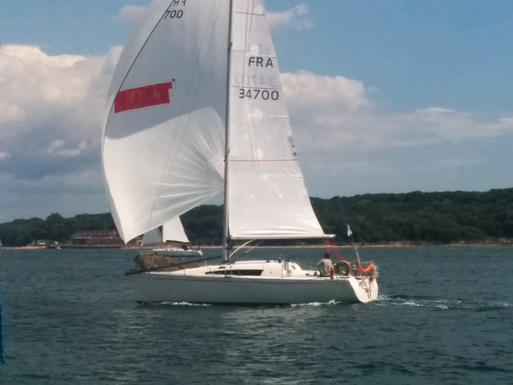Racing yachts Sunfast 3200