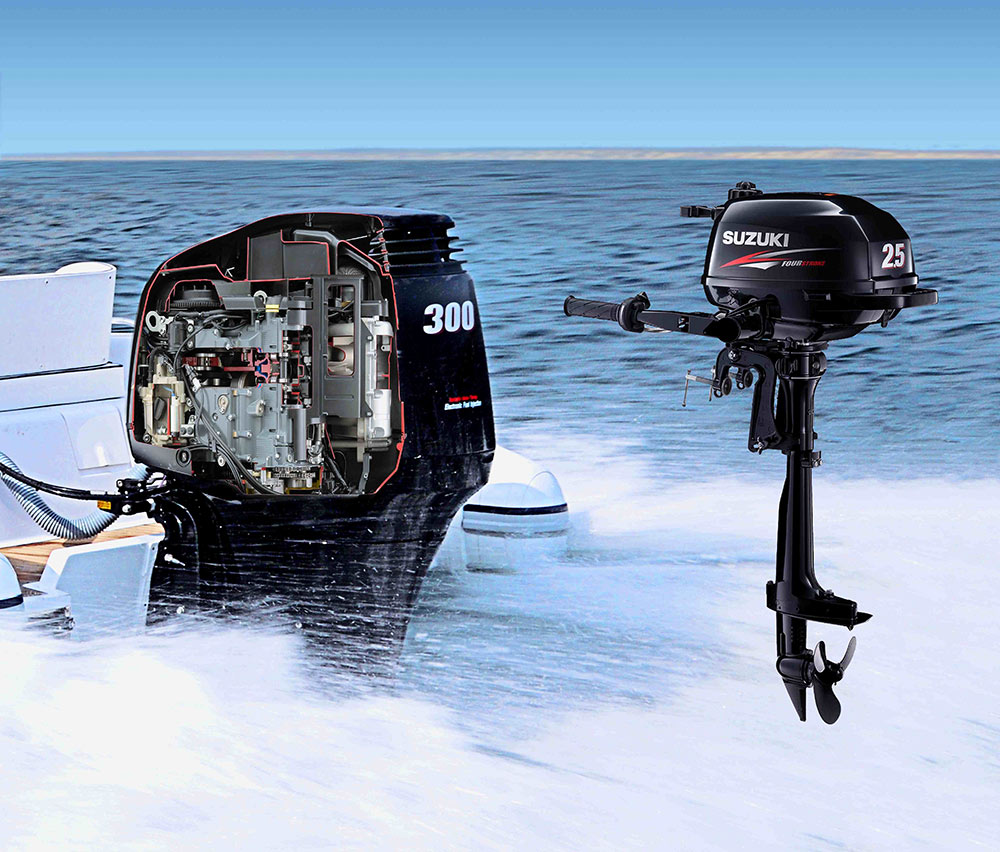 Buy one get one free: Suzuki outboard engine promotion