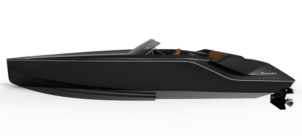 Bond villain boat – Frauscher 747