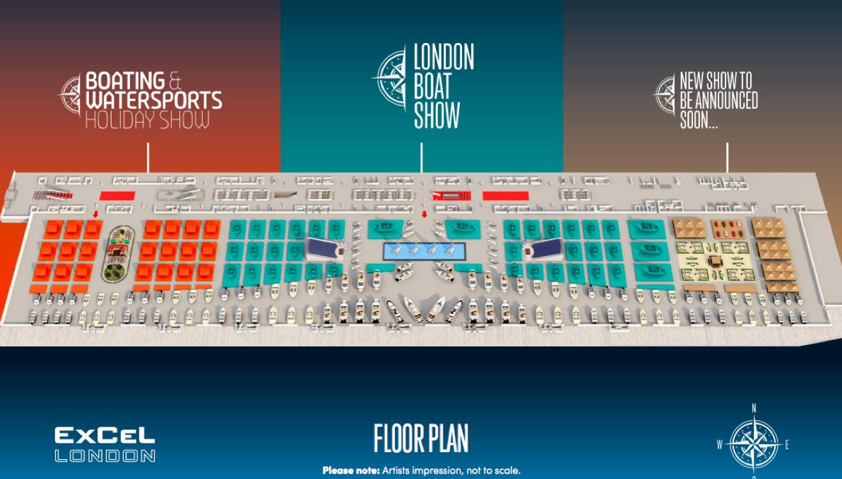 London Boat Show 2018 plans