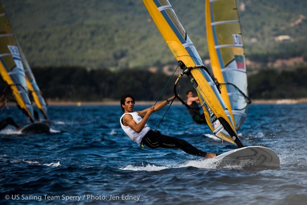 US Olympic sailing: RS:X men - Pedro Pascual