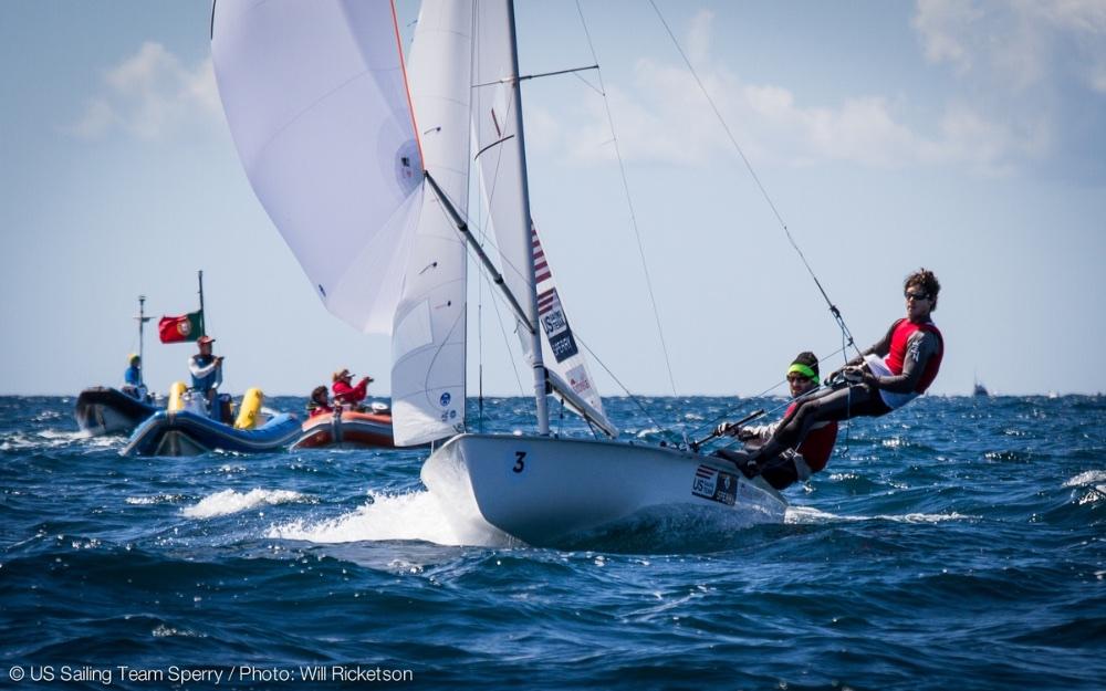 US Olympic sailing: 470 men