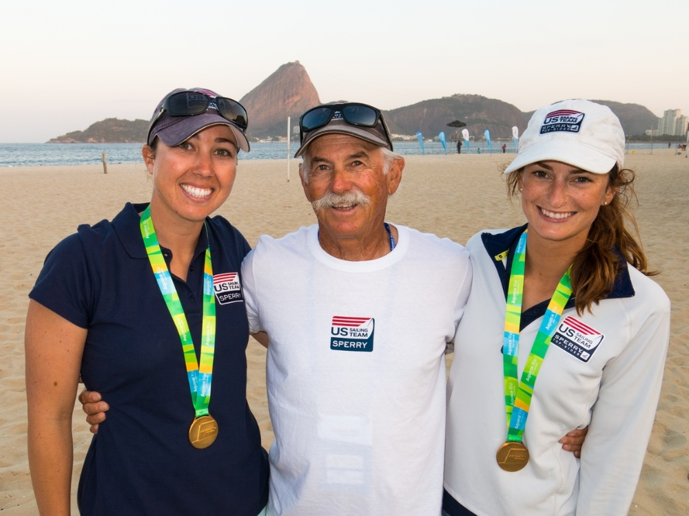 US Olympic Sailing: 470 women's team