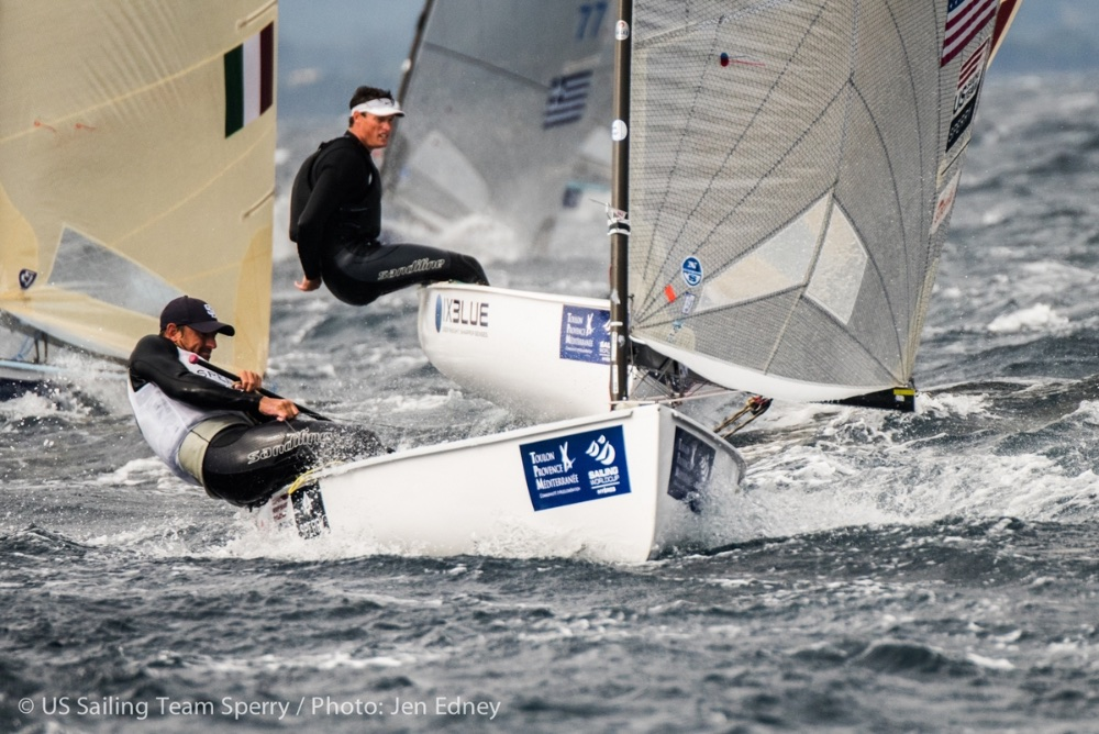 US Olympic sailing: Caleb Paine - Finn class