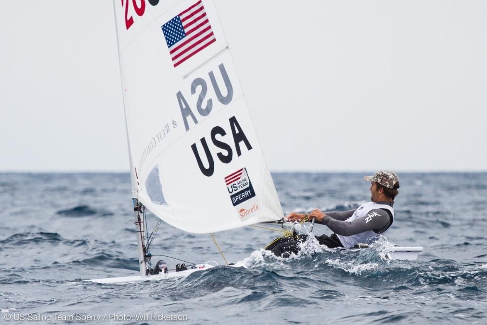 US Olympic sailing: Laser class - Charlie Buckingham
