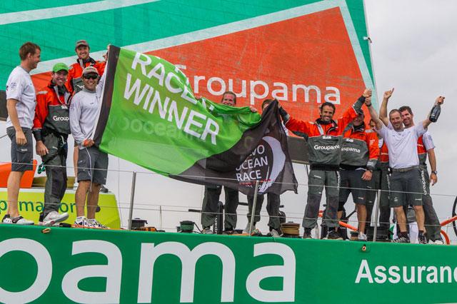 Groupama wins Volvo in-port