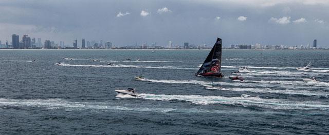 Volvo Ocean Race Leg 6 victory for Puma in Miami