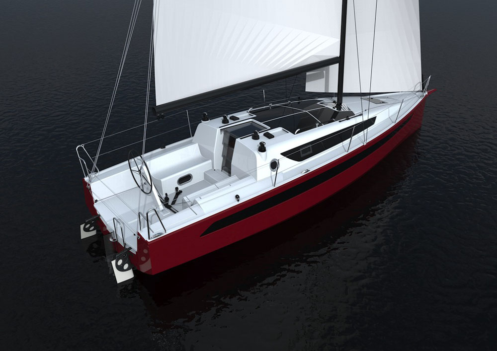 W1DA cruiser-racer makes debut at Southampton Boat Show 2015