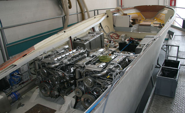Riva Aquarama engine