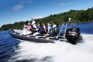 Suzuki sponsors the Powerboat and RIB Show