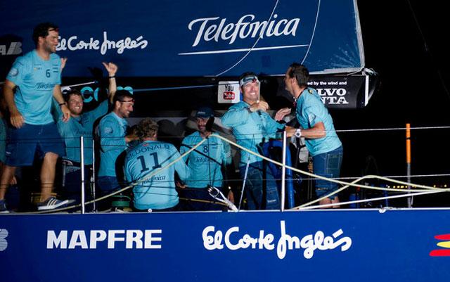 Volvo Ocean Race victory for Telefonica: Leg 2 part 1