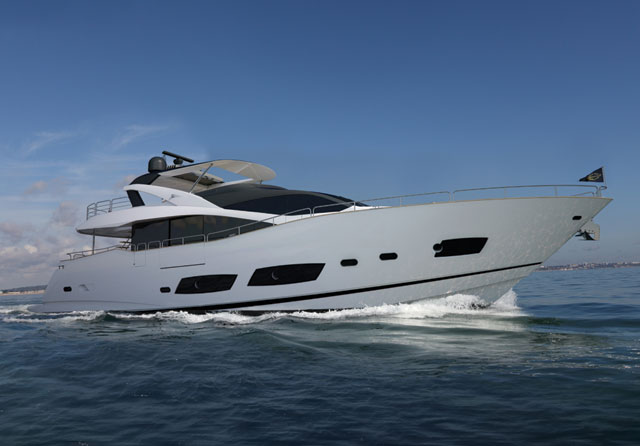 New 28m Sunseeker to launch at London Boat Show