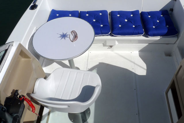 Olympipic 500C deck space