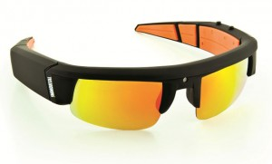 Show-off video sunglasses