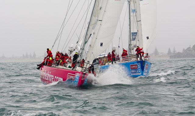 Clipper fleet sets sail for Australia