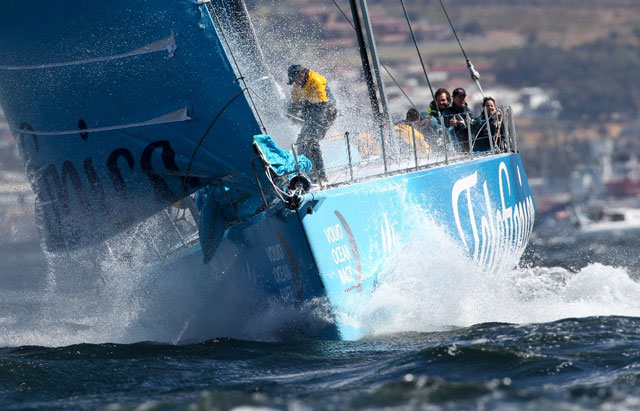 Telefonica wins Cape Town in-port race