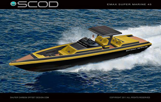New zero carbon superyacht tender