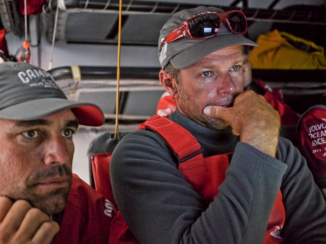 Volvo Ocean Race: Team Sanya takes the lead