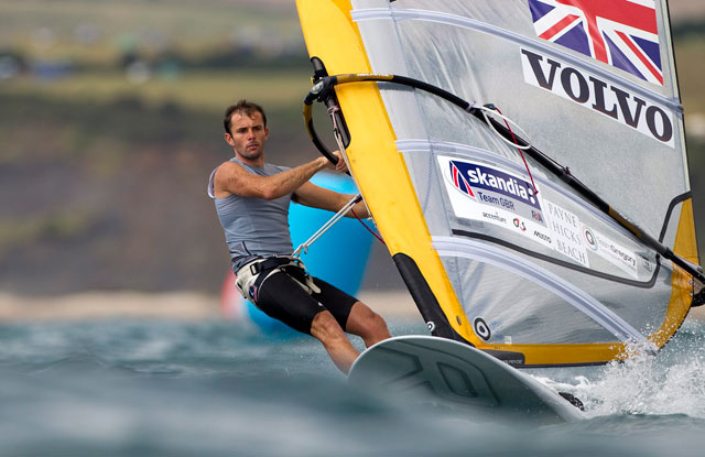 Silver for Nick Dempsey at winsdurfing worlds