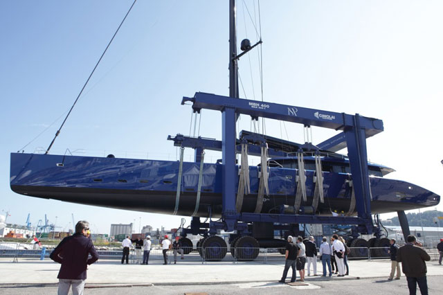 Launching of the Wally 50m Better Place