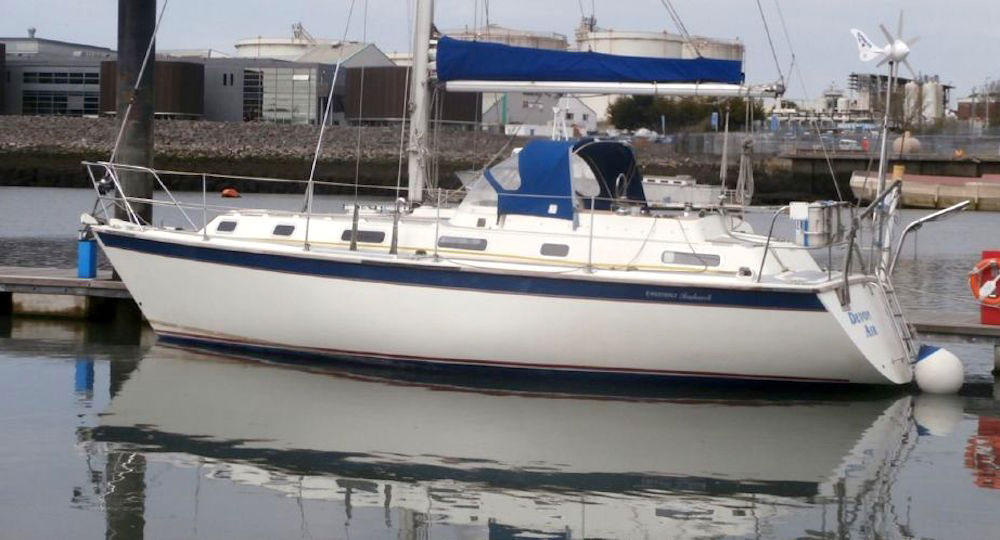 Coastal cruising - westerly Seahawk