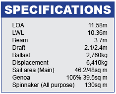 XP38 Specifications