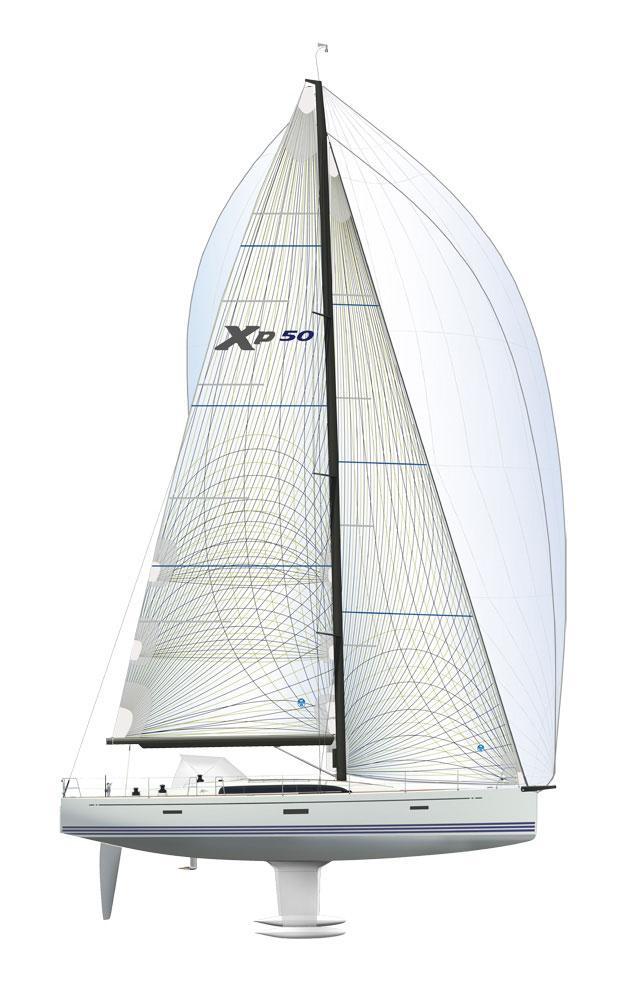 XP50 sail plan