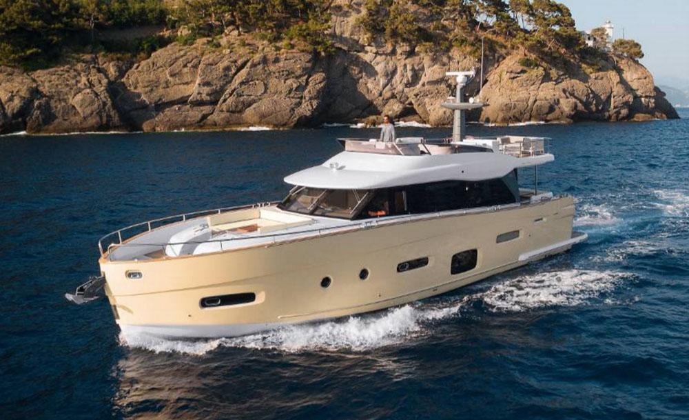 Azimut Magellano 66: European Powerboat of the year 2016 nominee