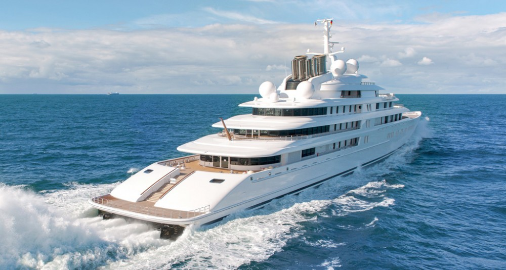 World's largest yachts: Azzam