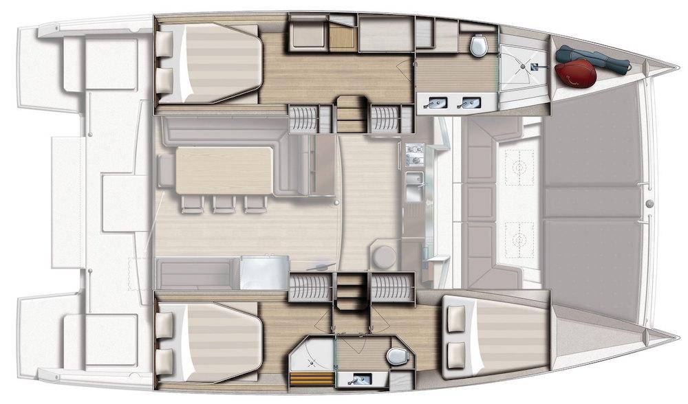 Bali 4.3 Loft layout