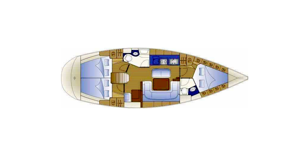 Bavaria 40: shoal draught yachts