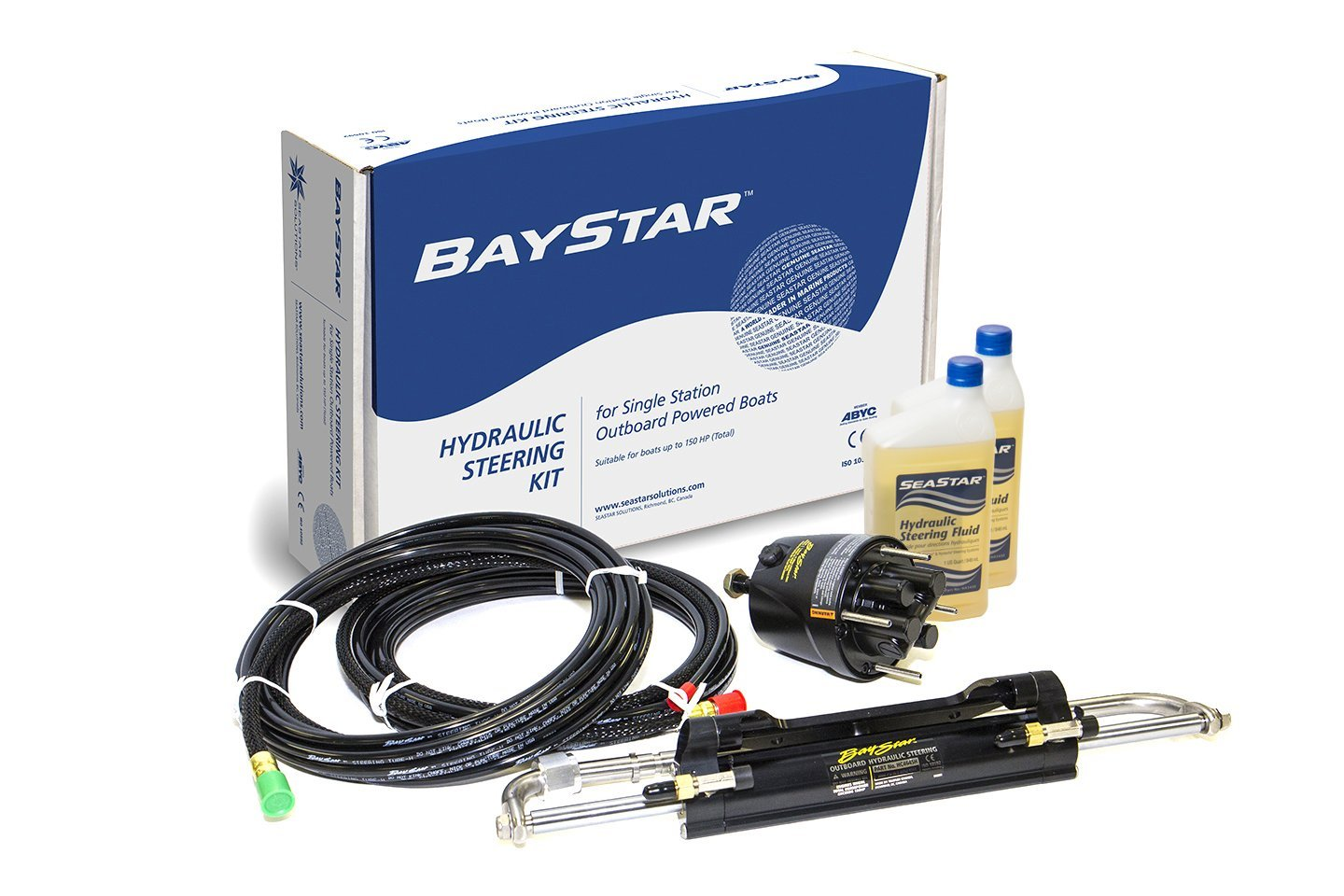 Hydraulic Steering For Outboards Boatscom Recently Bought A Boat That Seems To Have Wiring Electrical Baystar System