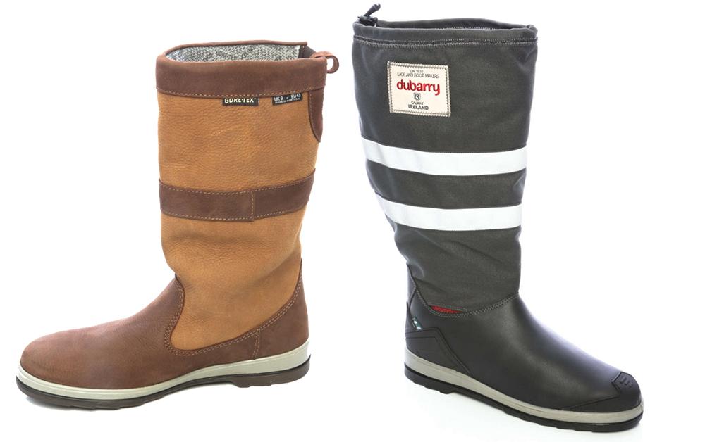 Dubarry sailing boots